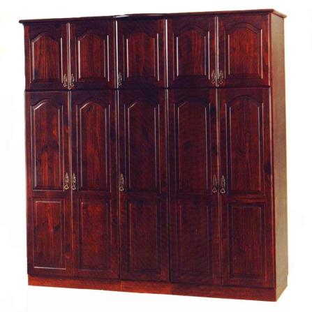 Roupeiro Madeira 10 Portas Tradicional 1011-  Domus Móveis