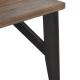 Mesa Jantar Industrial Wood (160x90x75)- Trend Movelaria